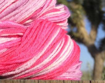 Worsted Weight Yarn - BFL Wool Superwash -   Desert 5 Spot