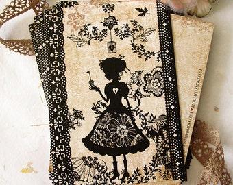 Postcard - Miss Shadow