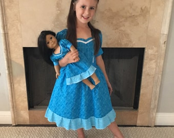 Elena of Avalor Isabel Dolly and Me Matching Dresses / Isabel Costume