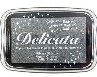 Delicata Shimmering Silver Ink Pad