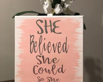 Handpainted Canvas Quotes