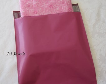 25 Pink Mailing Envelopes, Shipping Envelopes, Pink Mailers, Plastic Shipping Bags, Poly Bags, Mail Bags, Shipping Supplies 10x13