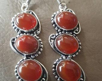 Carnelian Gemstone Earrings!