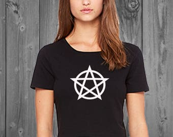Pentacle Women's Crop Top