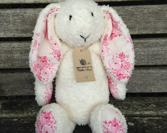 Hand knitted Blossom Bunny
