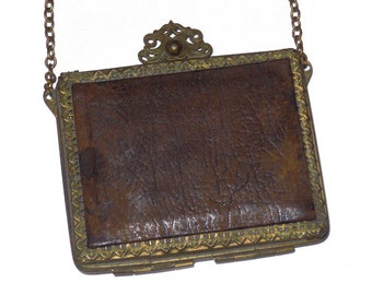 Antique Leather Purse, Antique Small Purse, Leather Purse, Turn of the Century Purse, Victorian Purse, Victorian by NewYorkMarketplace Etsy