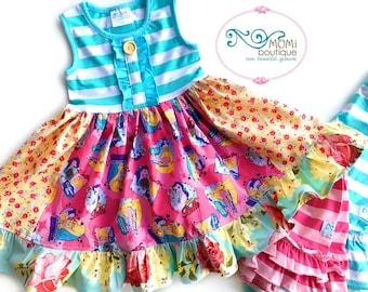 Beauty and the Beast Belle Disney movie dress  Momi boutique custom dress