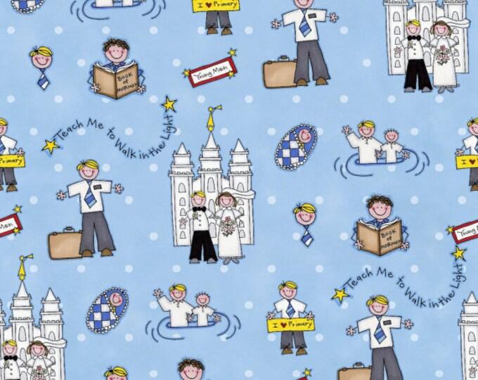 Boys Life Missionary Cotton FLANNEL - Alpine Original