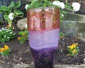 Tall Dusk Vase, Shades of...