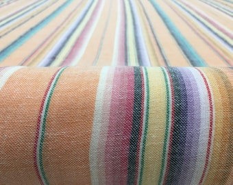 Gauze double layer fabric - Orange Serape