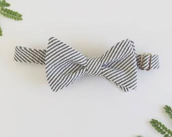 Self-Tie Bow Tie with Adjustable Neck