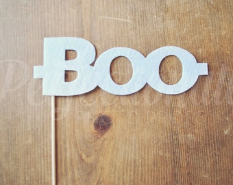 Halloween Boo Glasses | Ghostly Glasses | Boo Photo Prop | Halloween Glasses