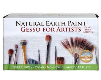 Eco Gesso Kit: Natural & Non-toxic Artist Primer