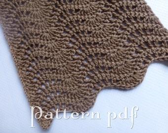 PDF Pattern - Lacey Chevron Stitch