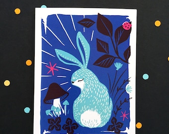 Wild Bunny • single card