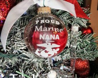 Proud Marine Mom , Nana , Grandma, aunt Customized