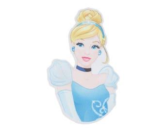 Cinderella Iron On Applique, Genuine Disney Iron On Patch, Cinderella Patch, Princess Patch, Cinderella Applique, Disney Applique