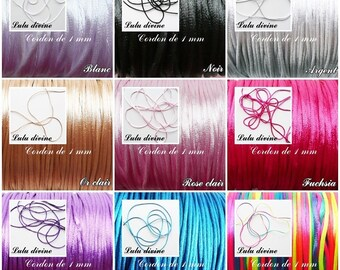 Cord / 1 mm polyester thread