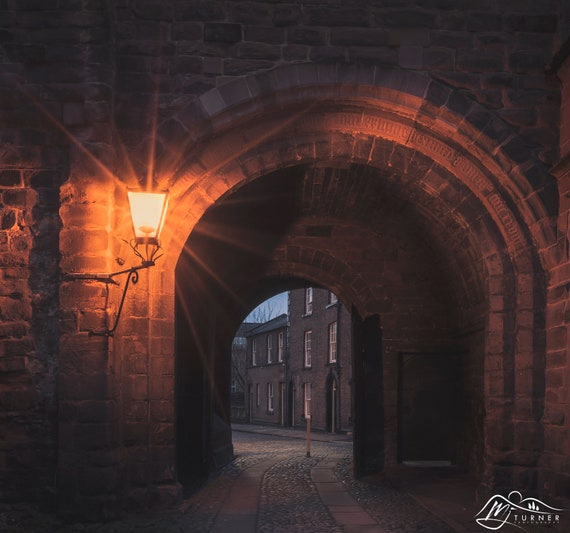 Abbey Street through Abbey Slee's Gateway [Photographic Print]