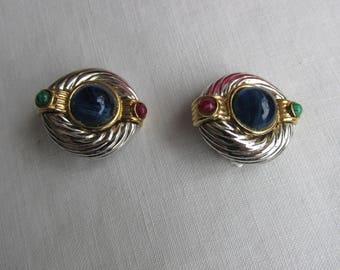 "Earrings - Clip On - ""Ivana"""