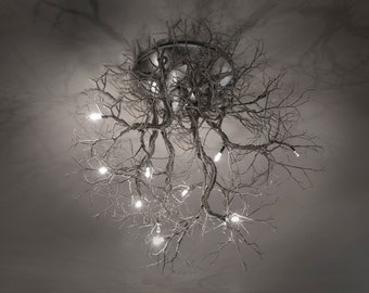 "ROOTS Collection ""Roots"" Medium  Ceiling Light"