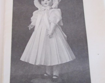"""FREE SHIPPING/Shirley Doll Patterns/SA-70 Reproduction Doll """"Twirp""""/Fits a 22"""" Doll/Uncut"""
