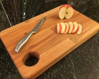 Handmade, Solid Hardwood Chopping Board. Beech Kitchen Block