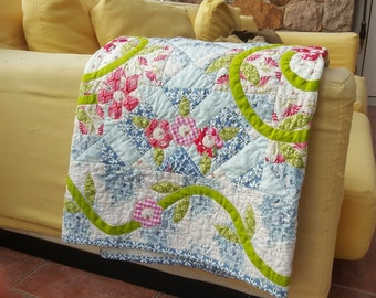 Summer in the Cottage Patchwork Quilt