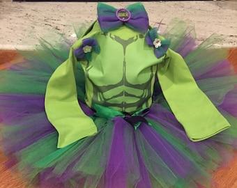 Hulk Tutu Costume