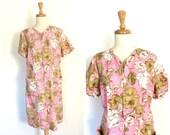 Vintage Cotton Dress - pi...