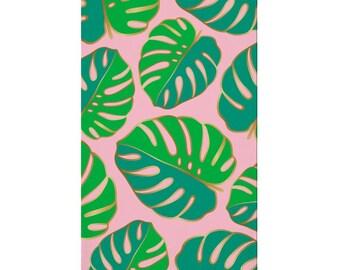 Palm Frond Monstera Leaf Napkin pkg 16