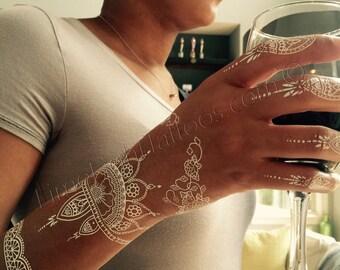 Henna Tattoo Jamaica : White henna etsy