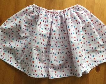 Childs drawstring skirt.