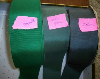 2 inch petersham ribbon in colors vintage cotton and rayon