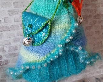 "PDF knitting pattern - Under the sea set for 12"" Blythe"
