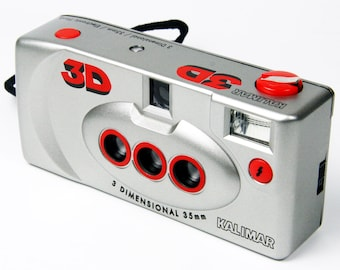 Kalimar 3D Stereo Camera - Ideal for creating Animated gif (3D)