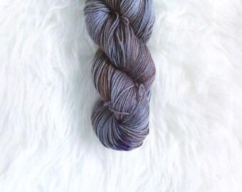 concord grape - MCN sock yarn - merino cashmere nylon