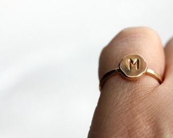 Initial Ring * Custom Initial Ring * Minimalist Jewelry * Rings Personalized * Custom Ring *  Ring * Personalized Ring..* Initial Jewelry *