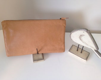New Zealand Leather Wristlet Purse
