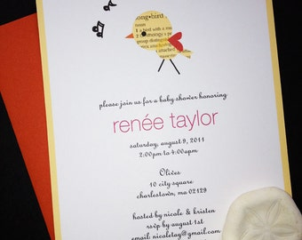 Custom Baby Shower Invites & Bookplates