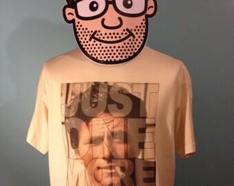 Columbo / Peter Falk Cult TV T-Shirt (Just One More Thing) - Natural Shirt