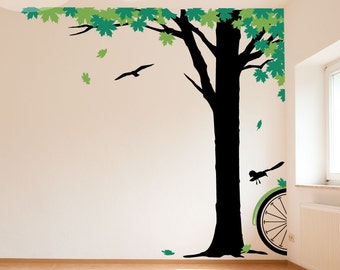 Maple Afternoon Wall Decal