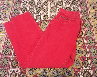 Red Riders Mom Jeans