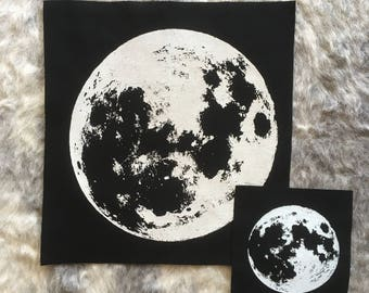 FULL MOON back patch