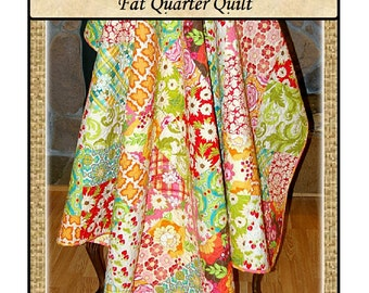 PDF Quilt Pattern Meadow Blocks  Fat Quarter Quilt Carlene Westberg Designs