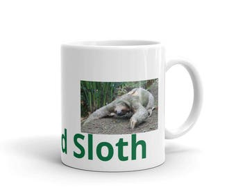 Relaxed Sloth Coffee Mug