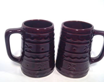 Harcrest, Marcrest, stoneware mugs, set of 2