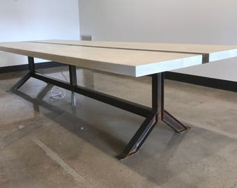 I Beam Conference Table / Dining Table