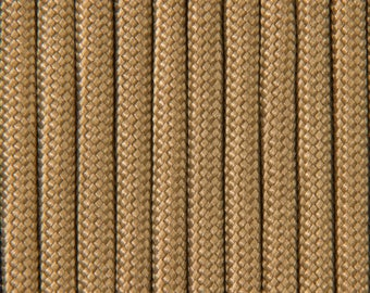 """Coyote brown"" Paracord 4mm by 30 meters"