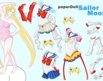 Sailor Moon Paperdoll